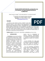 LActobacillus bioconservacion
