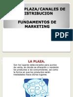 Plaza y Canales de Distribucion