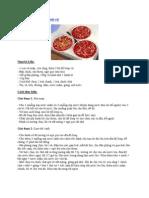 Hướng dẫn đánh tiết canh vịt