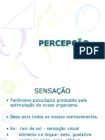 percepção power point