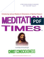 March Times - The Mystical Way of Jesus