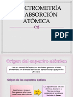 Espectrometria de Absorcion Atomica