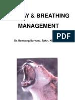 Airway Breathing Management