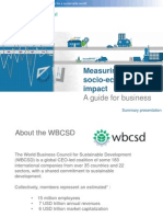 ⑨Bauer_WBCSD (Feb 2013) Measuring Impact Guide - for ADB_Investing in IB_Japan 1