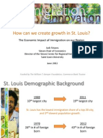 Jack Strauss the Economic Impact of Immigration on St. Louis