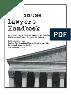 Report JailHouseLawyersHandbook | Lawsuit | Summary Judgment