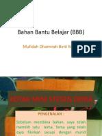 Bahan Bantu Belajar (BBB)