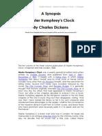 Master Humphrey's Clock - A Synopsis
