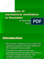 Principals of Mechanical Ventilation