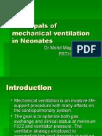 Principals of Mechanical Ventilation