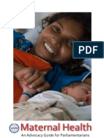Maternal Health - An Advocacy Guide for Parliamentarians
