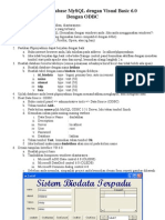 07 Step by Step Koneksi Database Mysql Dengan Visual Basic 6