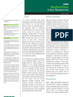 India Residential Market View - January - June 2012