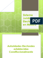 Sistema Jurídico Electoral en México.ppt