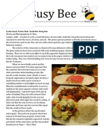 The Busy Bee Vol 2 Issue 9