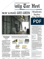 The Daily Tar Heel for March 6, 2013