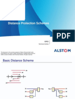 Distance Protection Schemes