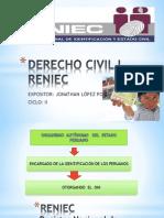 RENIEC- DIAPOSITIVAS