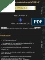 Aplicaciones educativas web