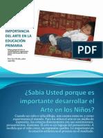 LA IMPORTANCIA DEL ARTE EN LA EDUCACIÓN PRIMARIA (2)