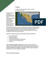 Areas Protegidas en Mexico