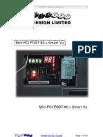 Mini PCI POST and Smart Vu Manual