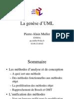 genèse d'UML