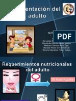 Alimentación del adulto-1. Nutrición