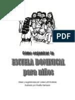 Como Organizar La Escuela Dominical