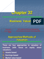 Ch-32 Business Valuation