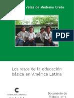 Retos de La Educacion Basica en America Latina
