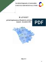 Raport anual ADR Nord / 2012