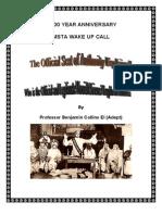 100 YEAR MSTA ANNIVERSARY Wake Up Call
