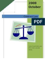 Contract LAW III