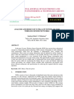 Analysis and Design of Ultra Low Power Adc for Wireless Sensor Networks-2