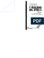 LAIN-ENTRALGO, Pedro - Teoría y realidad del otro, Vol.2. Otredad y projimidad