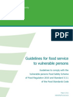 Guidelines for Food Safety Programs for Vuln Populations NSWFAFI1031103 2011