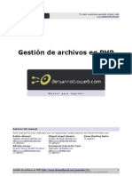 Manual Gestion Archivos Php