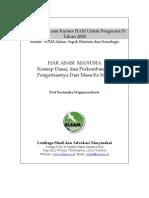 01. HAM Historis Sosiologis