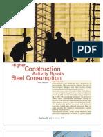 Steel Demand in Industries