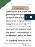 The History of Meitei Mayek...