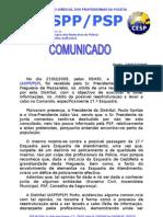 Comunicado Reunião c/Junta de Freguesia de Massarelos