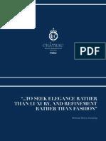 Chateau E-brochure Unbranded English