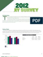 Salary Survey 2012