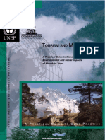 A Practical Guide to Managing the Enviromental and Social Impacts of Mountain Tours