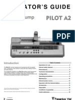 Fresenius Pilote A2 - User Manual
