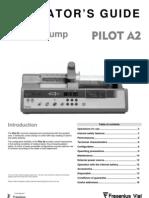 Fresenius Pilote A2 - User Manual