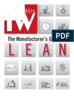 Lean manufacturing Handbook