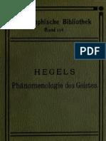 99866428 Hegel G W F Phanomenologie Des Geistes
