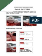 BALSAS SALVAVIDAS
